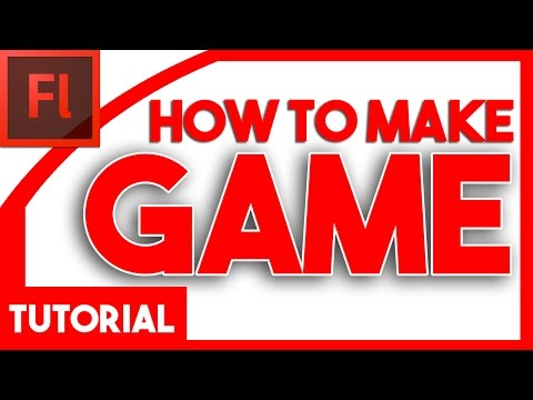 HOW TO MAKE A GAME ON ADOBE FLASH CS6