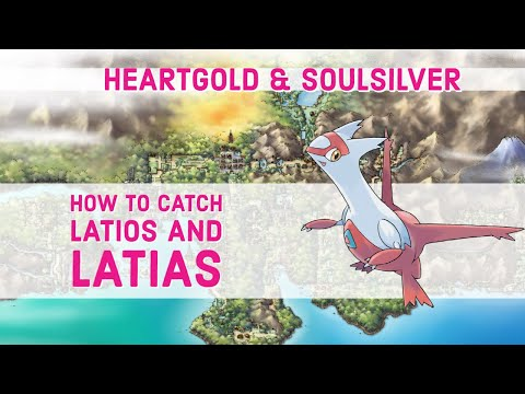 How to Catch Latias/Latios - Pokemon HeartGold & SoulSilver