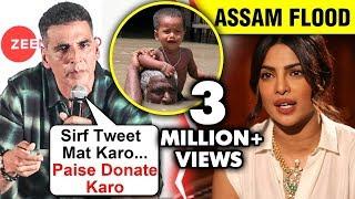 Akshay Kumar ANGRY On Priyanka Chopra For Not Donating For Assam Floods