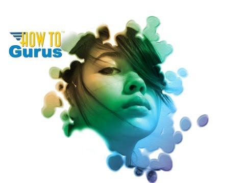 How to Create an Art Paint Splash Portrait Effect in Photoshop Elements 2018 15 14 13 Tutorial