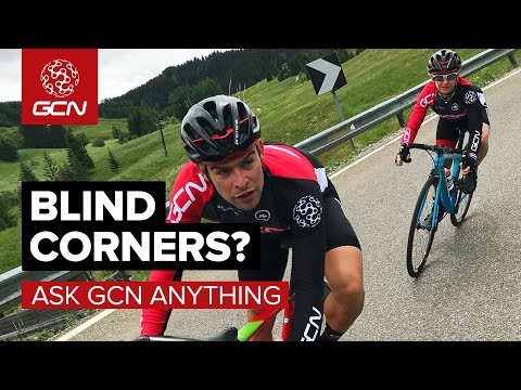 How Do I Ride Blind Corners Without Losing Speed? | Ask GCN Anything