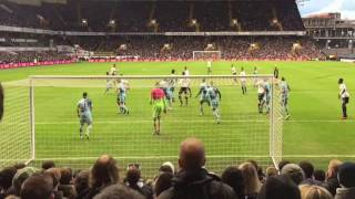 Spurs v Wycombe Wanderers: FA Cup 4th Round - fan highlights