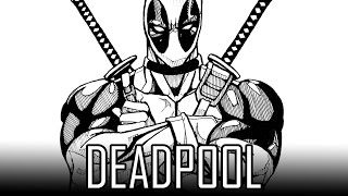 Draw Deadpool How To Draw With Quick Simple Easy Steps For Beginners