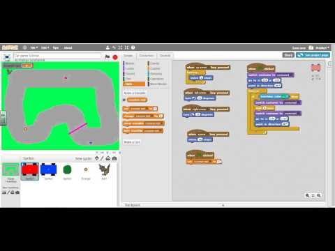 Scratch 2.0 Car Racing Game 12: Lap counter