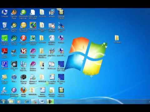 Creating a Folder on a Flash Drive
