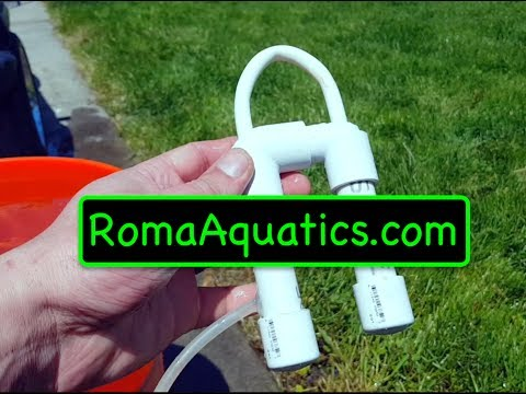 Cheapest & Smallest Do It Yourself (DIY) PVC Overflow (Drip Systems) - RomaAquatics.com 🆒