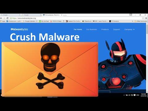 👮How To Remove A Computer Virus Or Malware Using Malwarebytes🔧