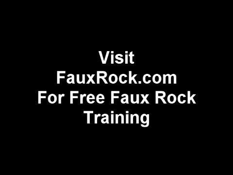 Fake Stone Training video