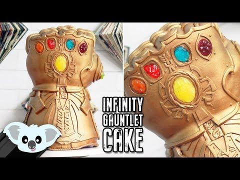 AVENGERS Infinity Gauntlet CAKE | Koalipops How To
