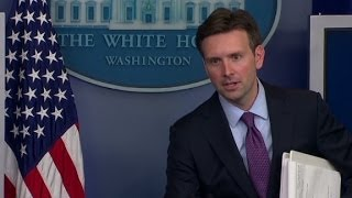 New press secretary scolded during White House briefing