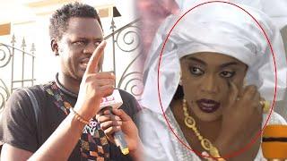 Grosse colère de Omaro sur une question du journaliste sur Sokhna Aïda Diallo