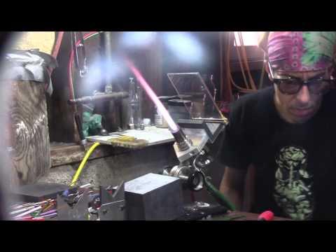 Glassblowing Practice/Prepwork1/Repairing Cracked Piece - Resilience Glass