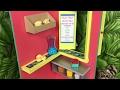 DIY American Girl Doll Lea's Fruit Stand - Foam Board