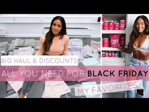BLACK FRIDAY HAUL - MY 4 FAVORITES! | Gymshark, Women's best, Daniel Wellington, Chimi Eyewear