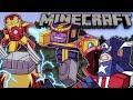 Avengers Endgame Final Battle Scene with Minecraft Mods! (INSANE)