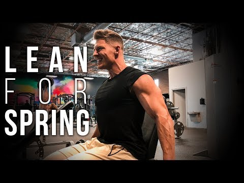 Spring Shred Workout | Shoulders, Arms, Cardio, Nutrition