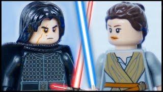 LEGO Star Wars Rey vs Kylo Ren STOP MOTION Prison Break (PART 2) LEGO Star Wars   By LEGO Worlds