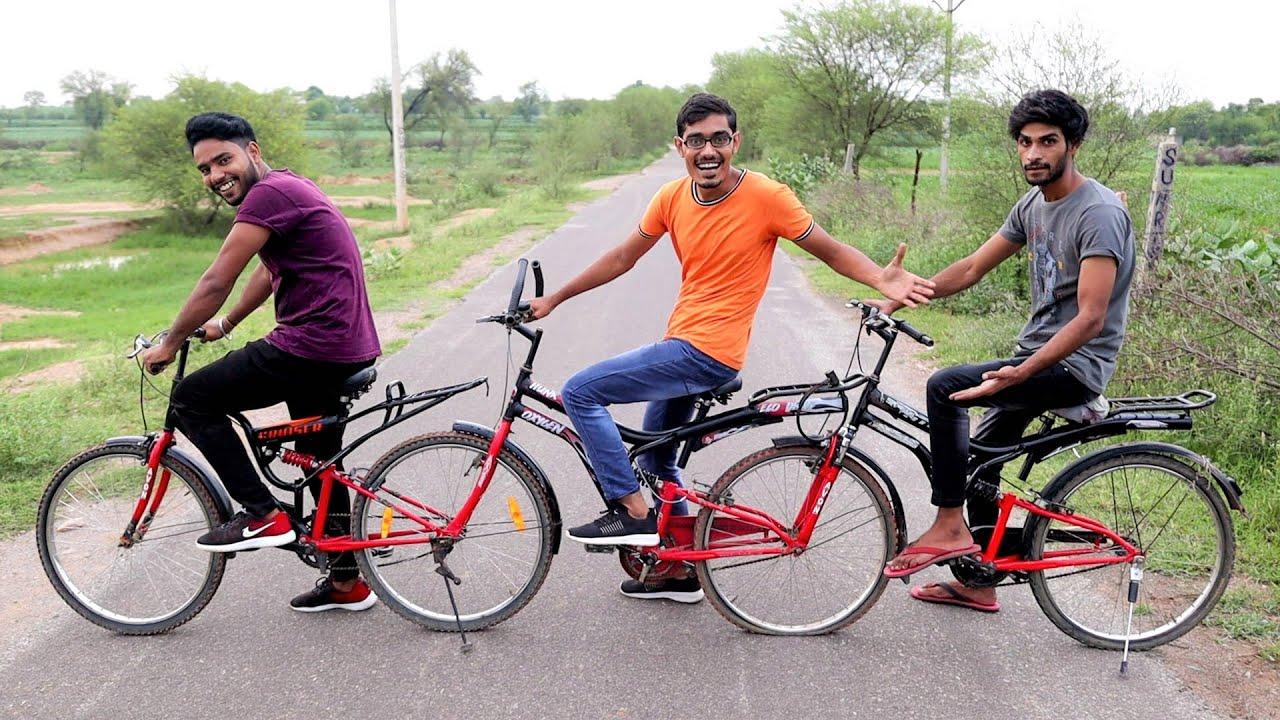 We Made 4 Wheeler Quad-Cycle | ऐसी अजीबोगरीब साइकिल आपने कभी नहीं देखी होगी | Works Perfectly🔥