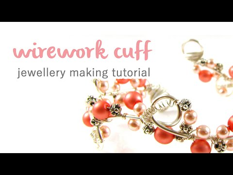 Wire Wrapped Cuff Tutorial
