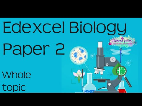 The whole of Edexcel Biology Paper 2 in only 50 minutes! Revision for 9-1 GCSE Bio Combined Science