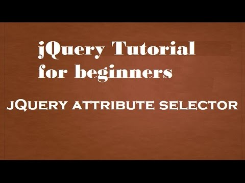 jQuery attribute selector in Hindi