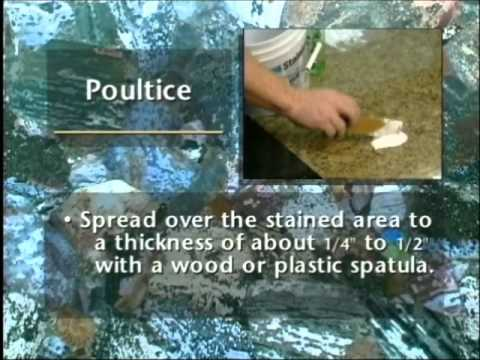 How to Remove Stains from Marble & Granite Countertops Using A Poultice