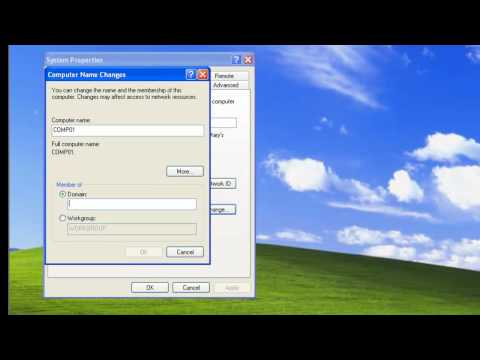 Joining Computer to Domain in Windows Server 2003