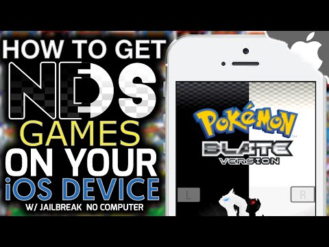iNDS: How To Get NINTENDO DS Games on your iOS Device! 9 & ↓ (JAILBREAK) (NO COMPUTER) iPhone iPad