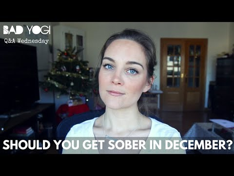 Q&A: Should you get sober in December?