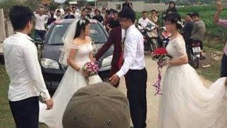 Hai cô dâu cùng xuất hiện trong đám cưới kiến xui gia đánh nhau túi bụi
