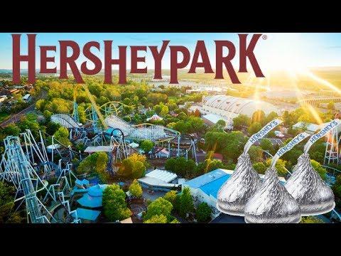 CRAZY HERSHEY PARK ROLLER COASTERS!!!