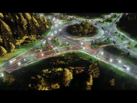 Lumion 6 Mass Move Roundabout