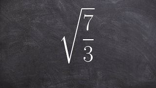 Simplify a fraction under a square root - Legal cheating for math