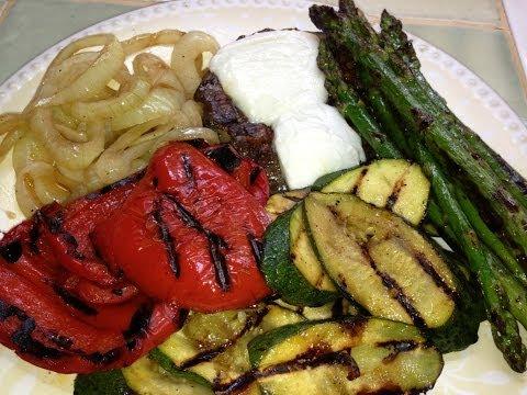 Grilled Veggie & Pesto Panini Recipe - EcoRico LIVE (unedited)