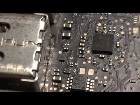 Repairing a Bad USB Port on a Late-2011 15