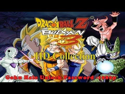 Dragon Ball Z Budokai 3 HD Collection Goku Halo Unlock Password -1080p