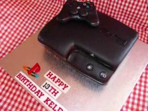 Playstation 3 (PS3) Fondant Cake