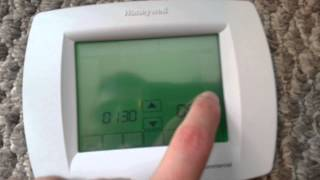 Honeywell Commercial Thermostat How To Set The Date Hd Quality