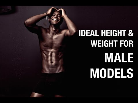 What is the Ideal Height and Weight for Male Models?
