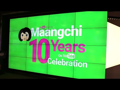 Maangchi's 10th anniversary potluck party