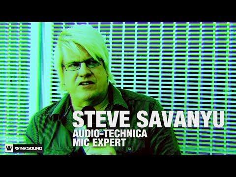 Choosing the right micrphone with Audio-Technica's Steve Savanyu | PreSonuSphere 2013 | WinkSound