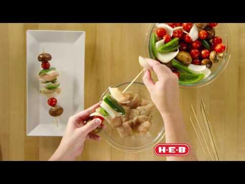 Chicken Jalapeño Kabobs Recipe   H-E-B Recipes
