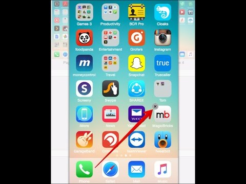 Unable to delete apps in iphone or Ipad , 'X' does not appear- [fix] iphone tricks