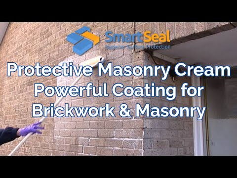 Stop Water Penetration  & Damp Proof Brick Walls with Masonry Cream