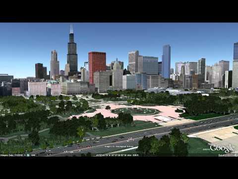 Learn Google Earth: 3D Trees