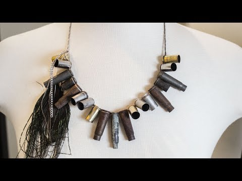 DIY Post Apocalyptic Bullet Casing Necklace