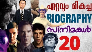 Top 20 Biography Movies | Malayalam Review | The Confused Cult