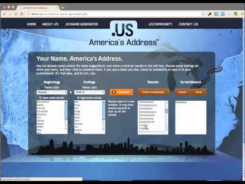 Domain Name Idea Generator - About.Us