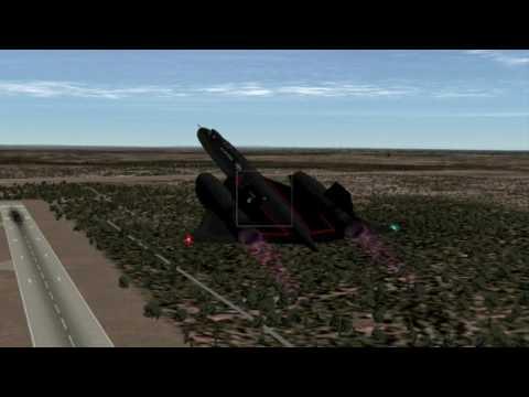 SR-71 Blackbird Takeoff - Denver Intl