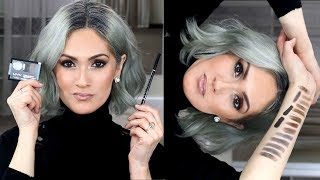 HOW TO FIND YOUR PERFECT EYEBROW SHADE  | 15 Swatches
